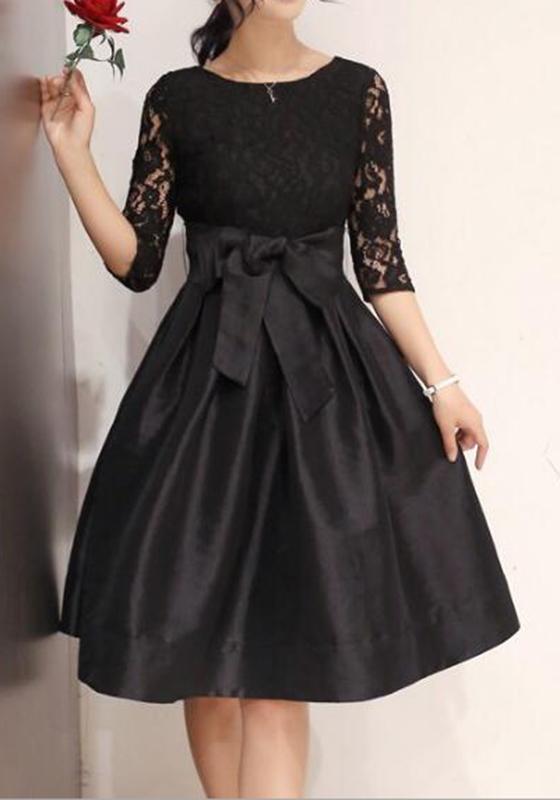 milongue robe avec dentelle tutu pliss233 avec noeud