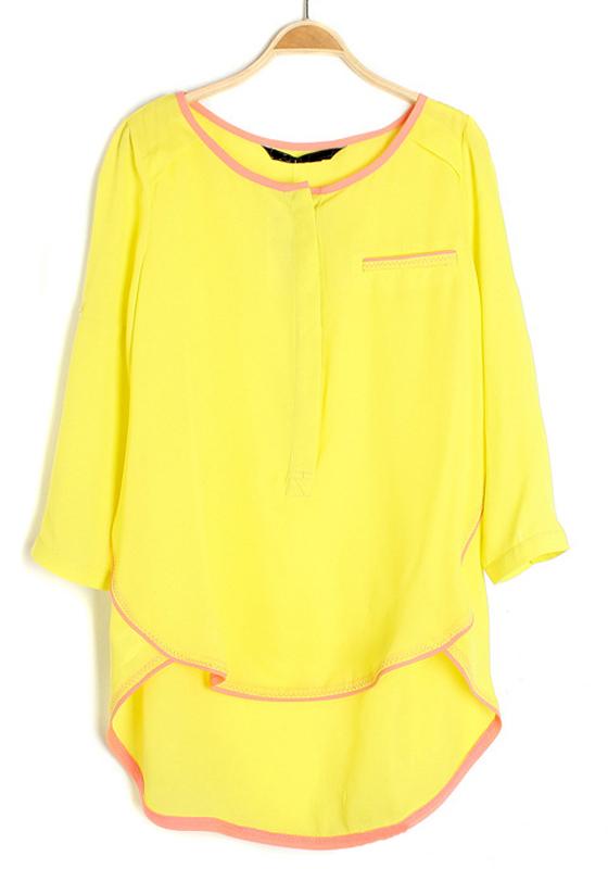 Желтая Блузка С Доставкой