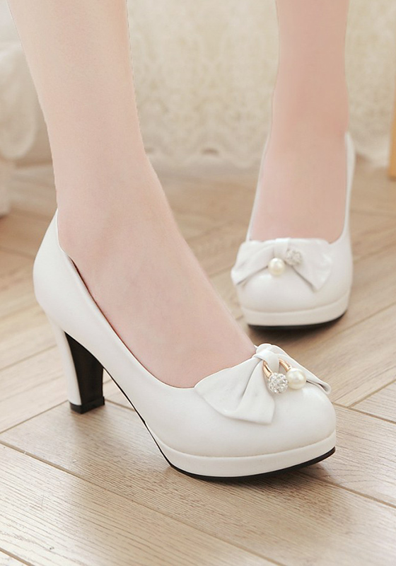 Cichic White Shoes