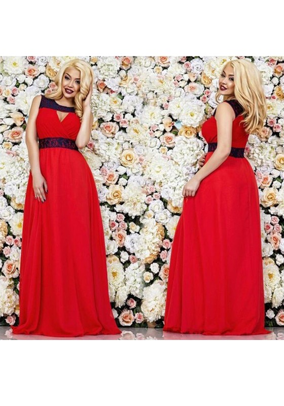 4f1d9ccd44c3 Red Patchwork Lace Cut Out High Waisted Sexy Christmas Party Maxi Dress