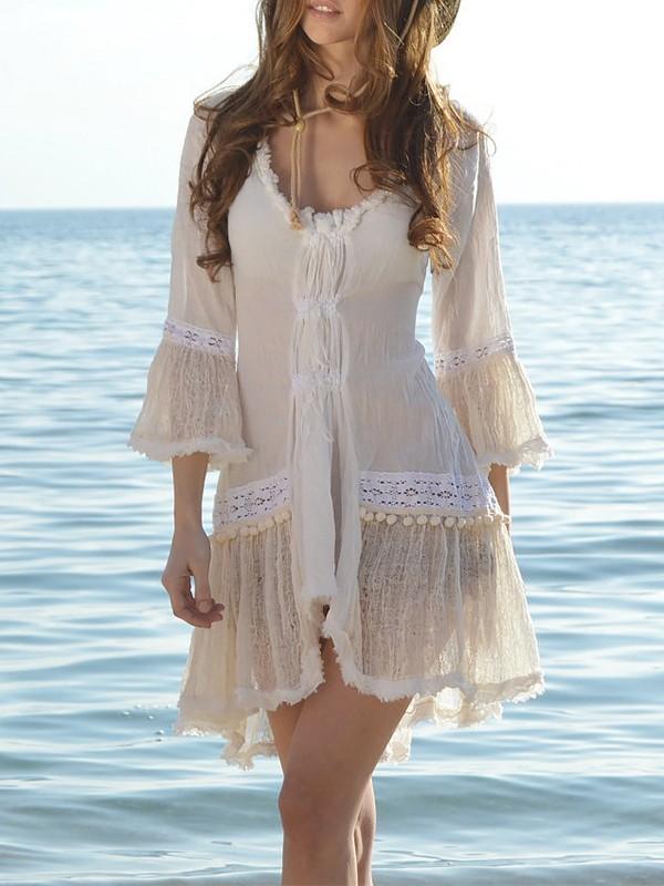 Three Quarter Sleeve Dress