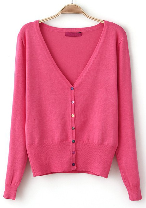 Dusky Pink Cardigan - Jumpers Sale a5ad09cb9
