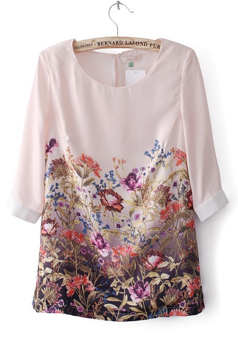Beige & Black Floral V-Hem Three-Quarter Sleeve Tunic - Women & Plus Apparel, Home & More · New Events Every Day · Hurry, Limited Inventory · New Deals Every Day57,+ followers on Twitter.