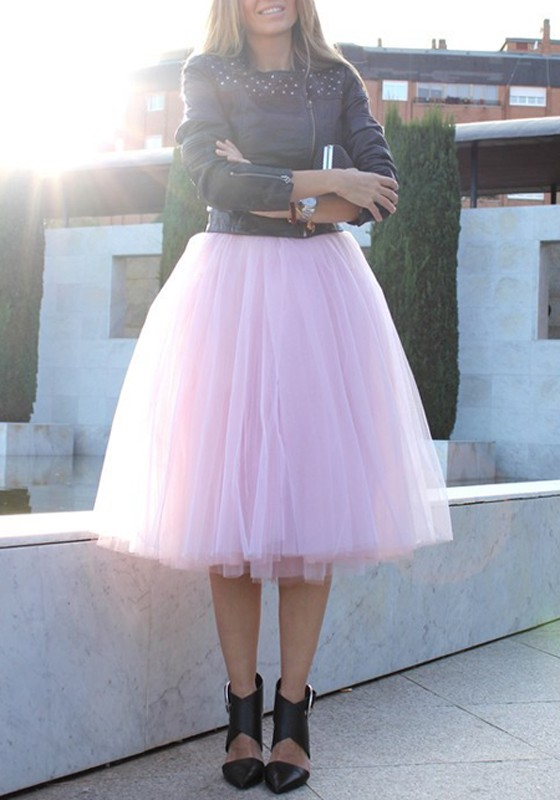 how to make a romantic length tutu