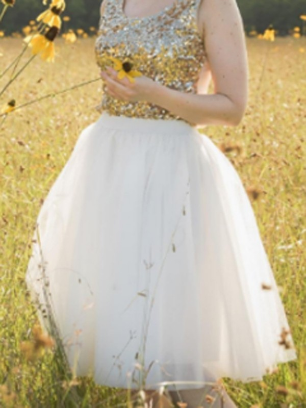 b7a897df7133 White Grenadine Draped Fluffy Puffy Tulle Homecoming Party Sweet Skirt -  Skirts - Bottoms