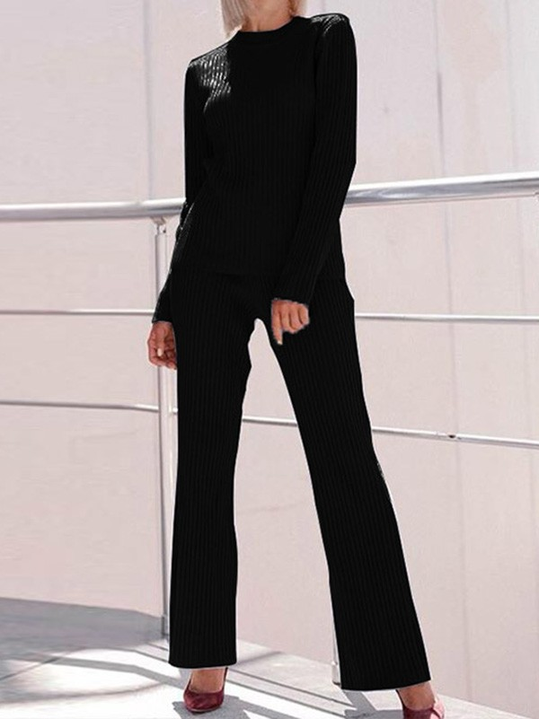 940c546192 Black High Waisted Sweet Going out Party Wide Leg Long Jumpsuit - Jumpsuits  - Bottoms