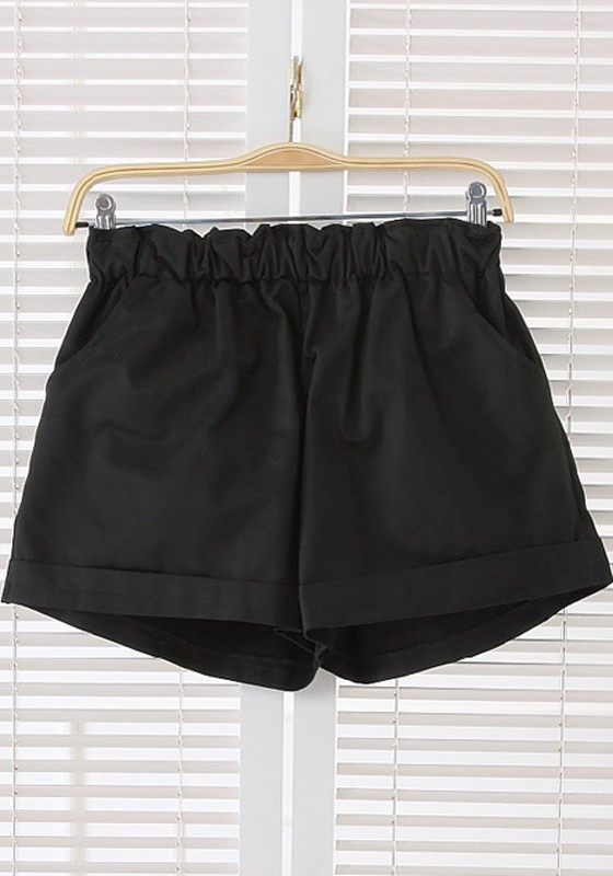 High Waisted Loose Shorts Hardon Clothes