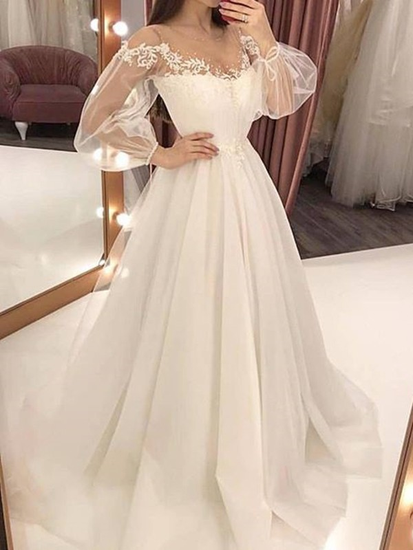 White Patchwork Lace Grenadine D For Wedding Gowns Elegant Maxi Dress