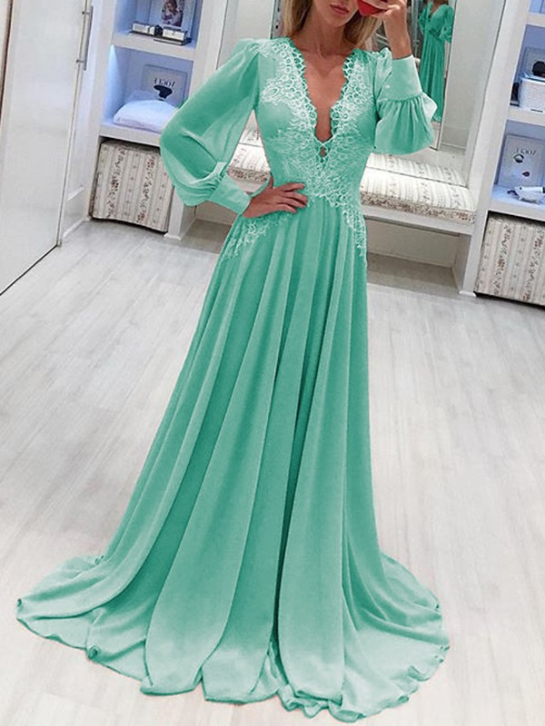 vert maxi robe with sleeves online shop f4