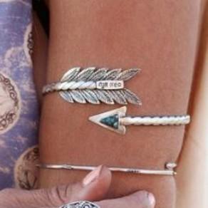 Bracelet alliage de mode l'argent