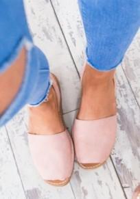 Rosa Piscine Mouth Flache Mode Knöchel Hippie Sommer Flip Flops Römer Sandalen Damen Schuhe