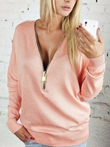 Pink Going out Comfy Sweet Fashion T-Shirt