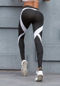White Heart Butt Print Bodycon High Waisted Yoga Sports Workout Long Legging
