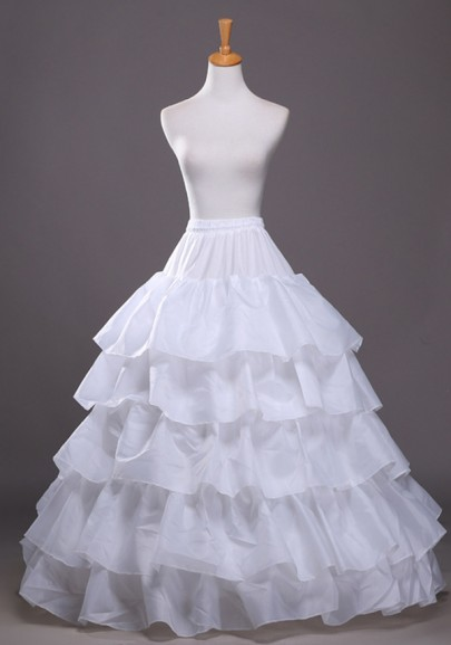 White Ruffle Drawstring Waist High Waisted Fashion Skirt