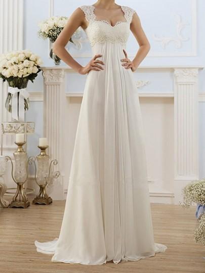 White Patchwork Lace Draped Strappy Backless Sleeveless Elegant Maxi Dress