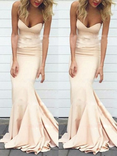 Robe maxi bandeau cocktail party sweet one piece champagne