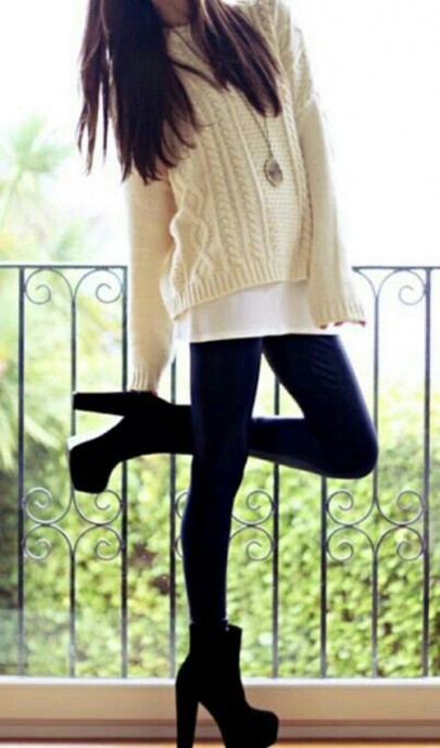 Beige Collarless Bat Long Sleeve Loose Cotton Pullover