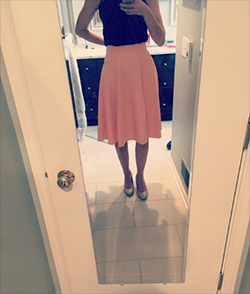e59819cc6c Nice feeling skirt with built in shorts. I love It! Looks great with  everything and is not see through. Perfectly elegant and flowy.