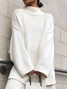 Pullover pulls fille miel blanc