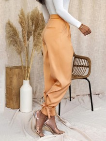 Orange Patchwork Modehose