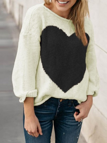 Apricot love thanksgiving day vêtements pull à manches longues col rond casual pullover