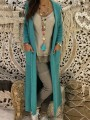 Green Pockets Hooded Long Sleeve Oversize Cardigan Sweater