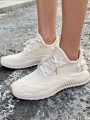 White Round Toe Flat Fashion Casual Shoes